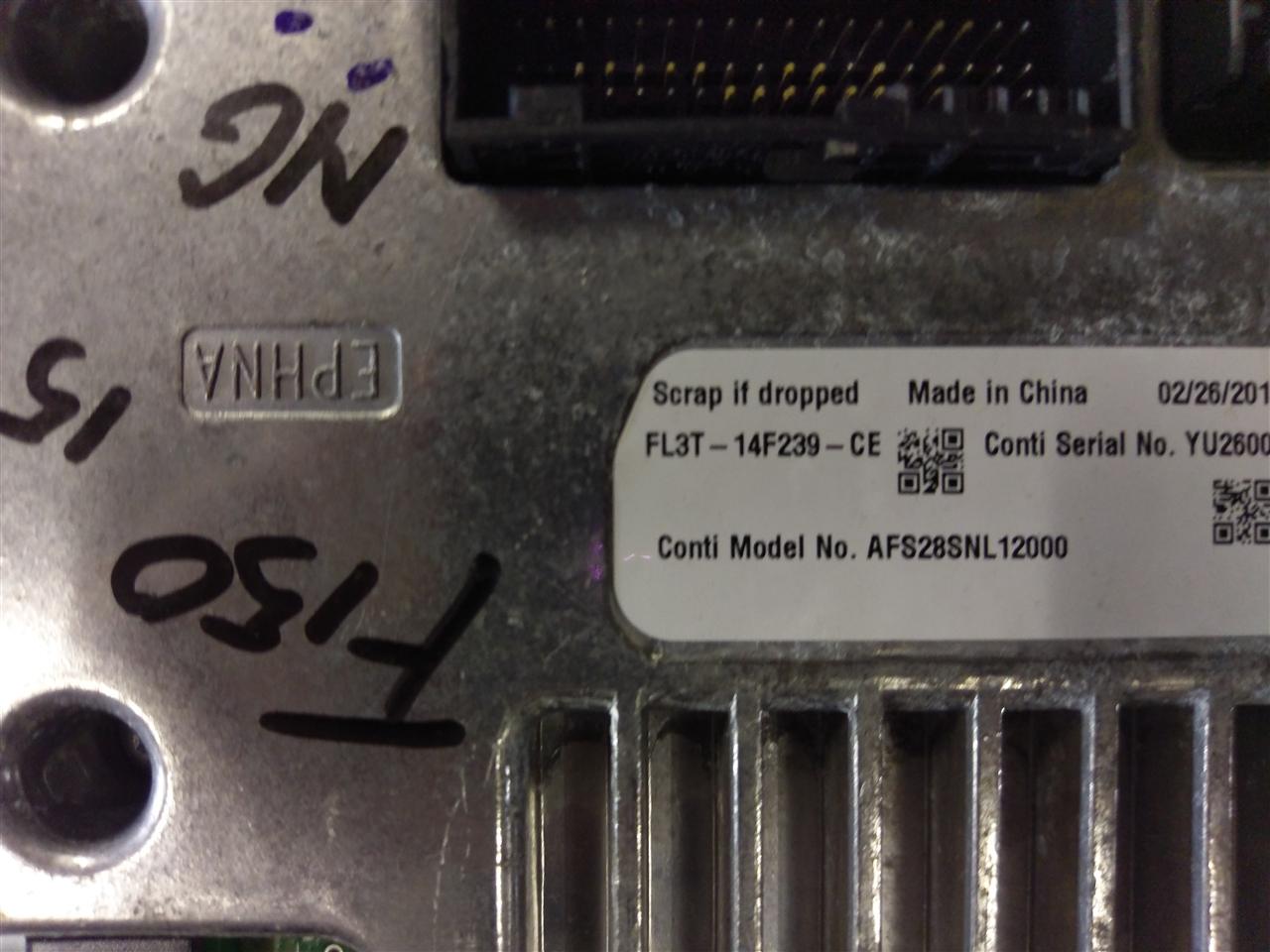 Ford F150 dispay met APIM module 2015-2017 - Autopart | Den