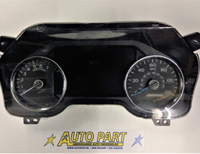 Ford F150 dashboard klok mph 2015